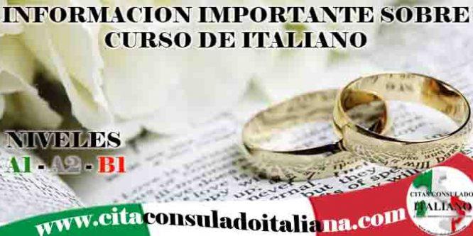 "Curso Italiano ""A1 – A2 – B1"""
