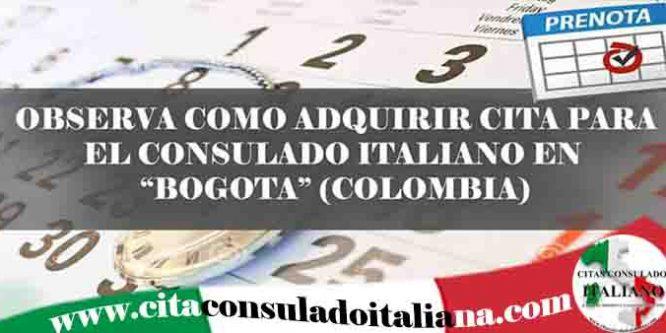 Reserva cita Italiana en Bogotá