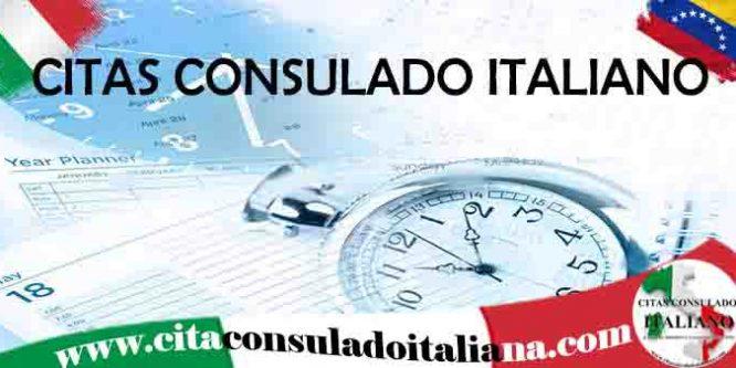 Cita consulado Italiano