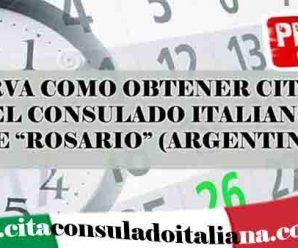 Cita italiana en Rosario