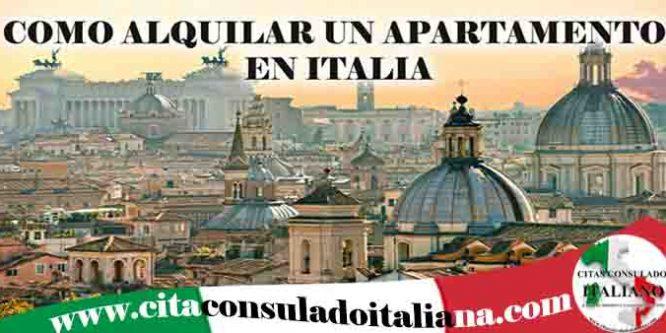 Alquilar vivienda en Italia