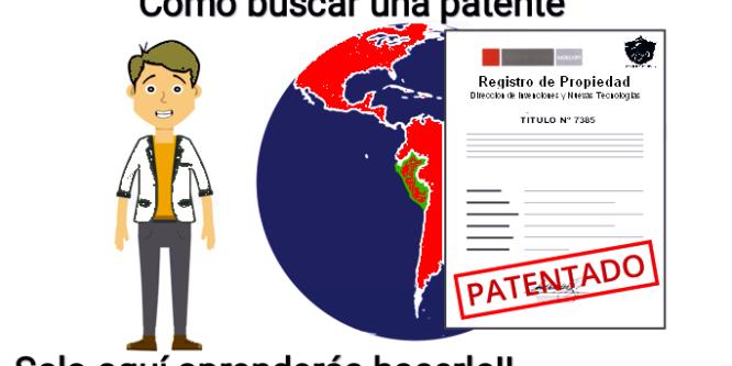 Como buscar una patente (CORONAVIRUS)